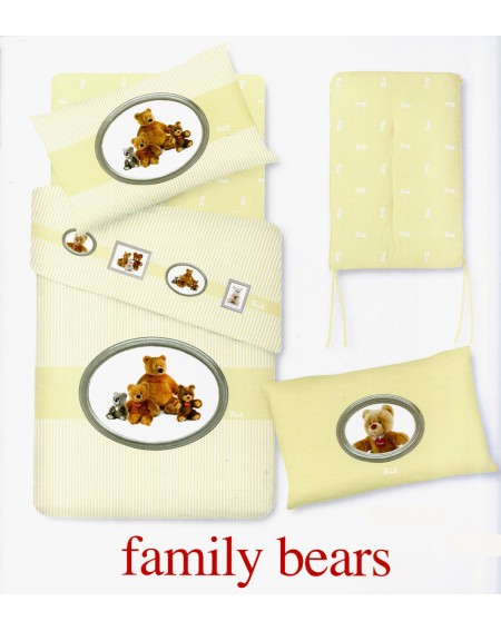 Baby Bedding Sheets Set Trudi Gabel BEARS