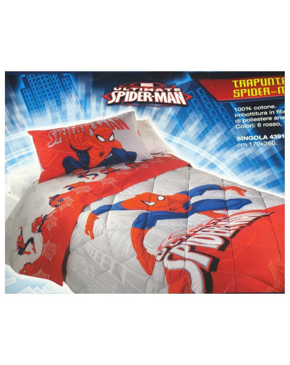 Housse de couette spiderman city rasoline l f d home for Housse couette spiderman