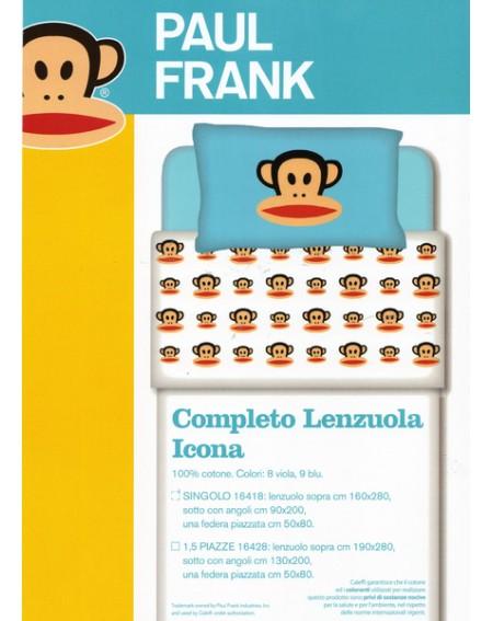 """Lenzuola Paul Frank """" Icona """" By Caleffi"""
