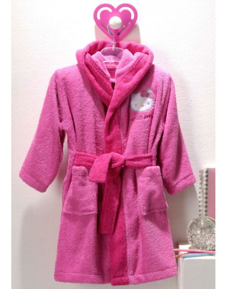 Bathrobe HELLO KITTY FLORA