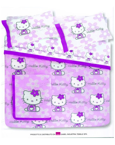Bedspread Hello Kitty Outline
