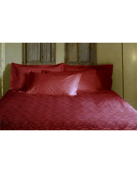 Bettüberwürfe rot nicht gesteppte doppelbett Switch Bassetti Decor