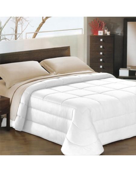 Daunenbett Comforter Ines satin Weiß
