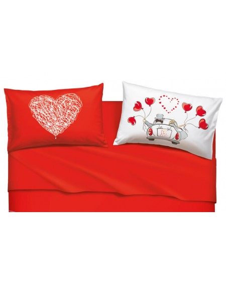 Bassetti Set Lenzuola Matrimoniali Love Is A Couple.Love Is A Couple Bassetti Rasoline L F D Home