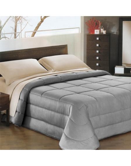 Daunenbett Comforter Ines satin silver