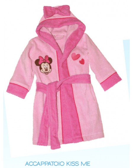 BATHROBE MINNIE BY CALEFFI MADE IN ITALY