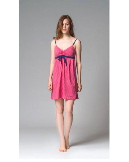 Nightgown STELLINA coton Noidinotte Fuxia