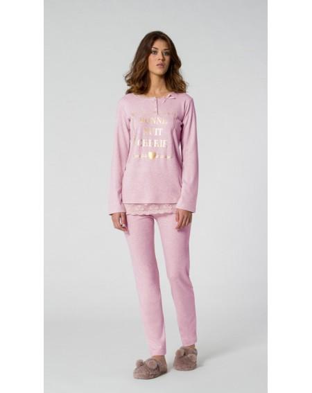 Schlafanzug Mädchen Melange Noidinotte
