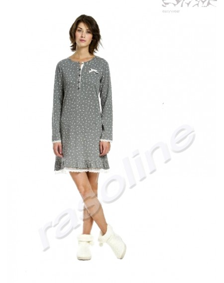Nightgown TINA coton flanel Noidìnotte