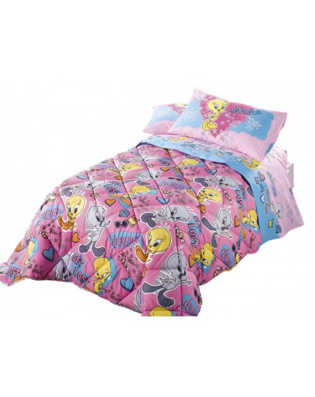Comforter for single-bed Love Tweety