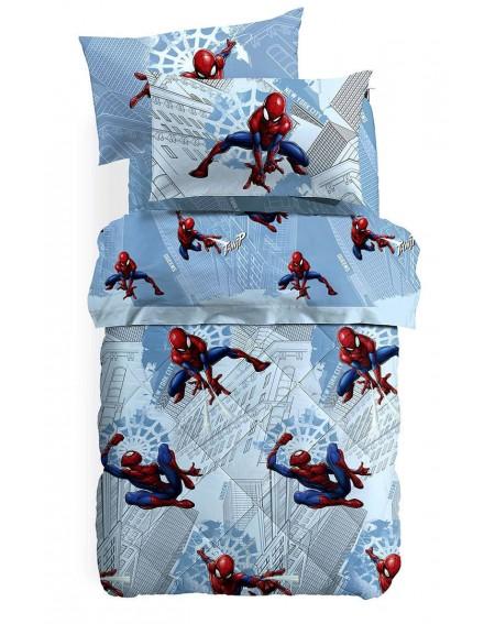 Set Lenzuola Spider-man Manhattan una Piazza e Mezza Caleffi