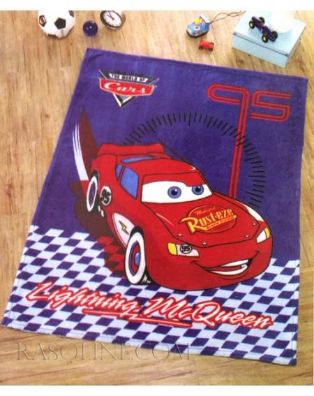 Morbidissimo Plaid In Microfibra Cars Disney