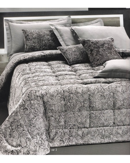 Bettdecke In Satin Jacquard Milena