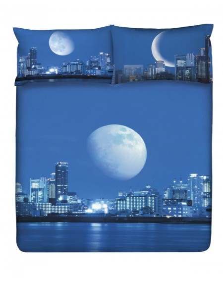 Completo Lenzuolo-Copriletto Planet Cosmic - Moonlight Gabel Per Letto Matrimoniale
