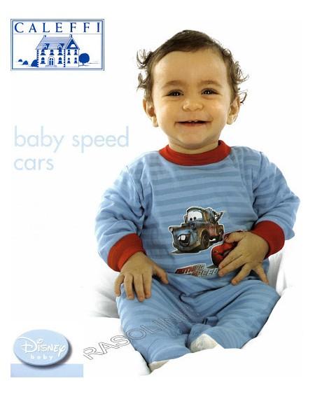 Pajama baby Cars Disney Caleffi