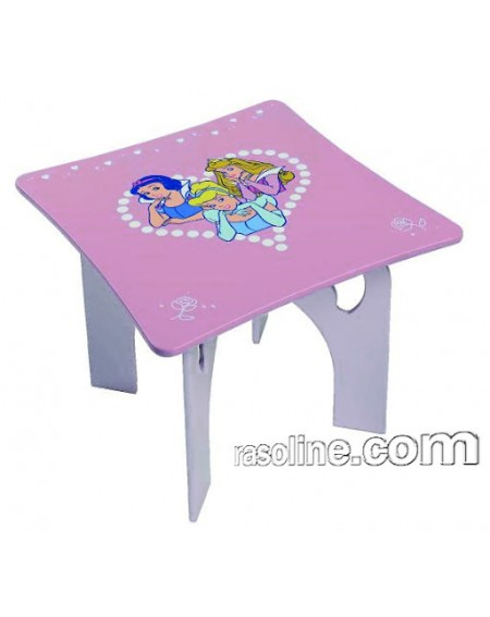 TABLE WOODEN PRINCESS