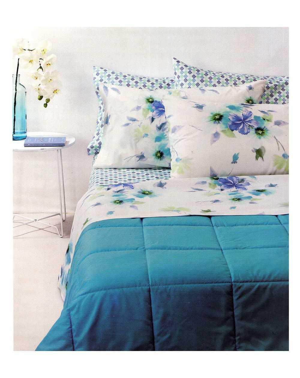Completo Letto Matrimoniale Bassetti.Super King Size Sheet Set Las Coloradas Bassetti
