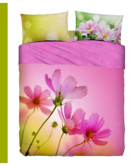Super king size sheet set Pink Spring Bassetti
