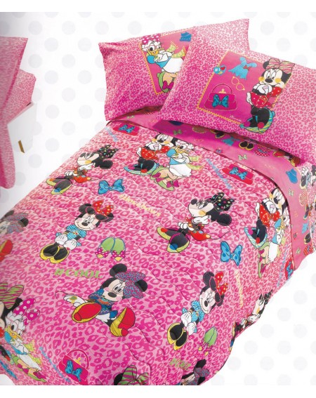 Bettüberwürfe gesteppte Minnie Trend Caleffi Disney Bett 125 cm