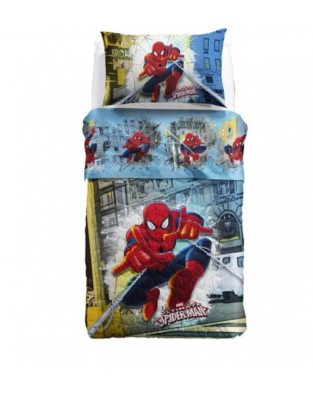 Copriletto Trapuntato Spiderman
