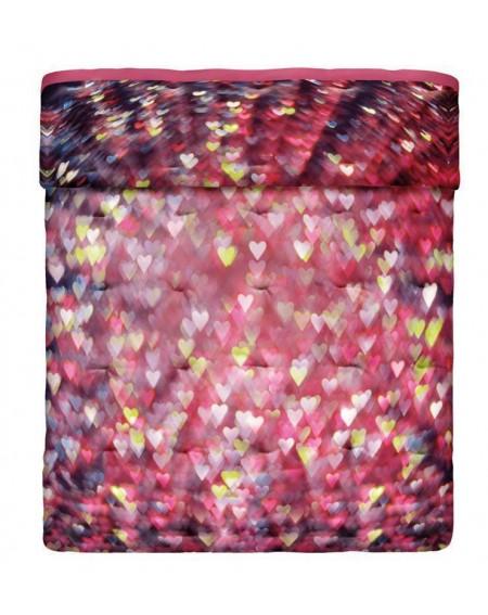Love Hearts Bettüberwürfe gesteppte - . doppelbett