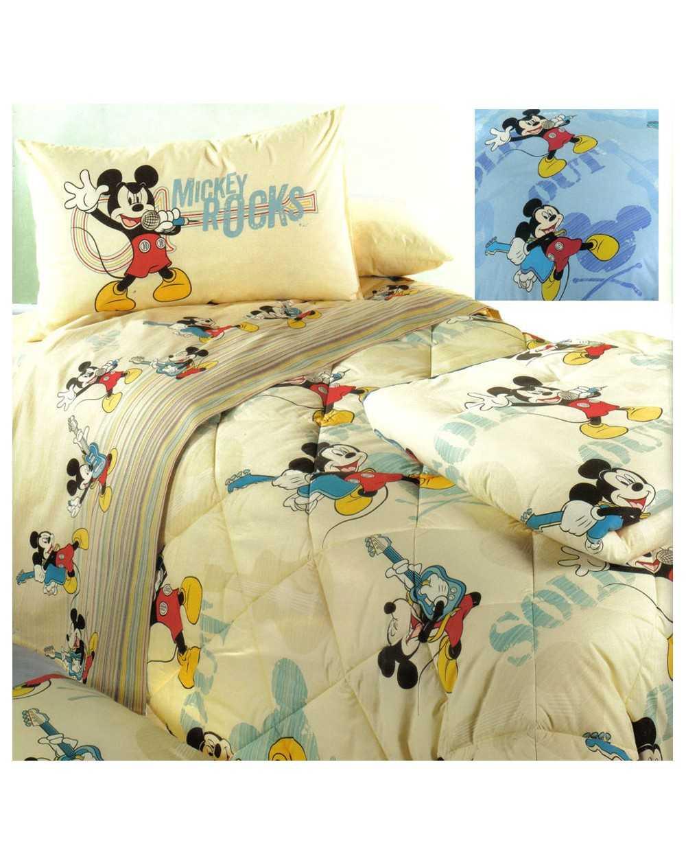 set de draps parure de lit flanelle mickey rasoline l f d home. Black Bedroom Furniture Sets. Home Design Ideas