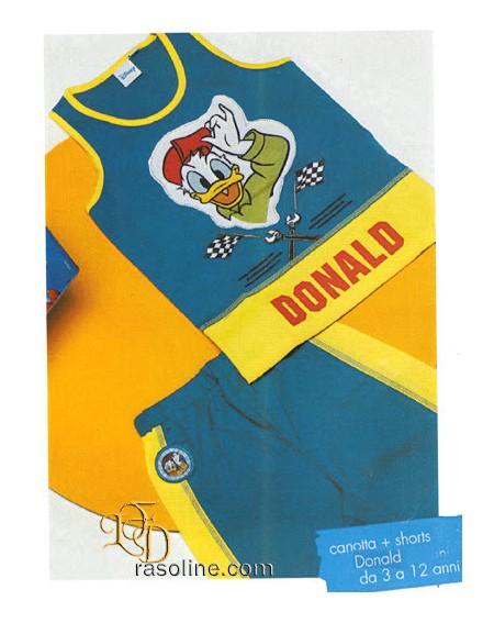 Schlafanzug Donald Duck 7/8 Jahre DISNEY