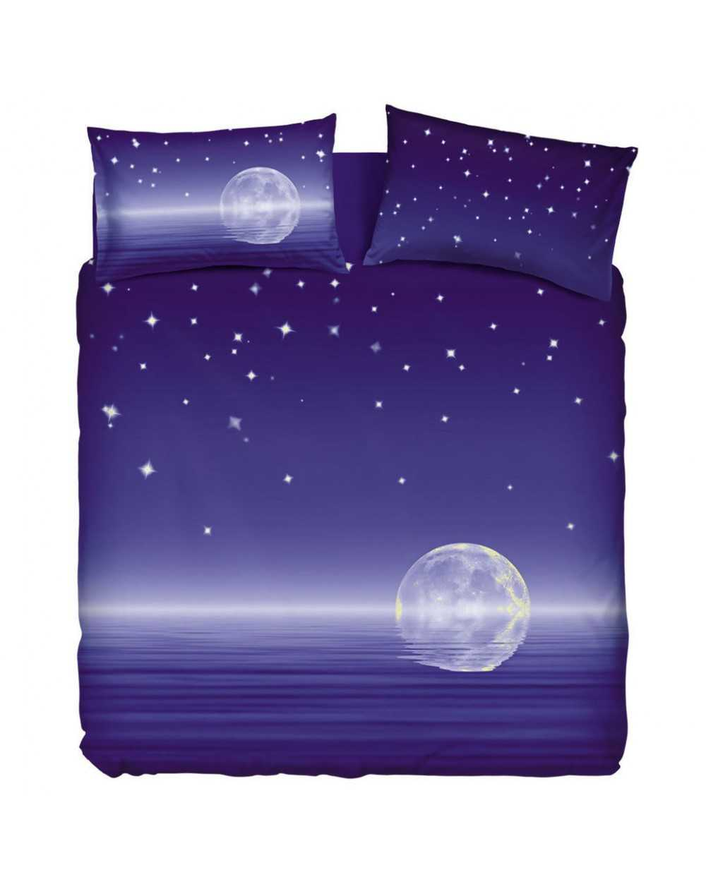 Housse de couette set copripiumino letto singolo magic moon natura bassetti rasoline l f d home - Copripiumino letto singolo ...