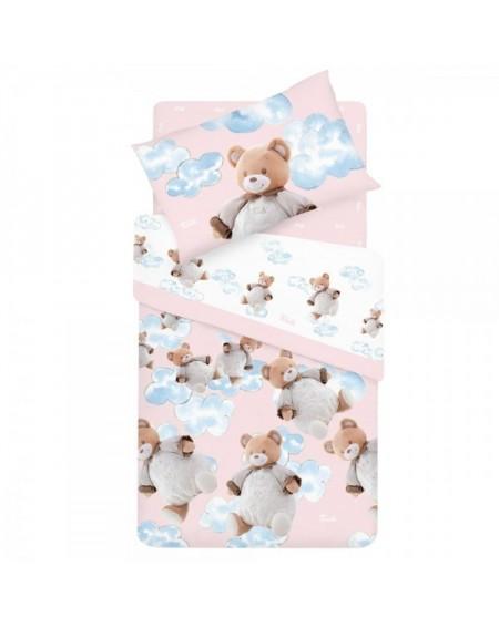 Completo Lenzuola per Lettino con le Sponde Baby Bear