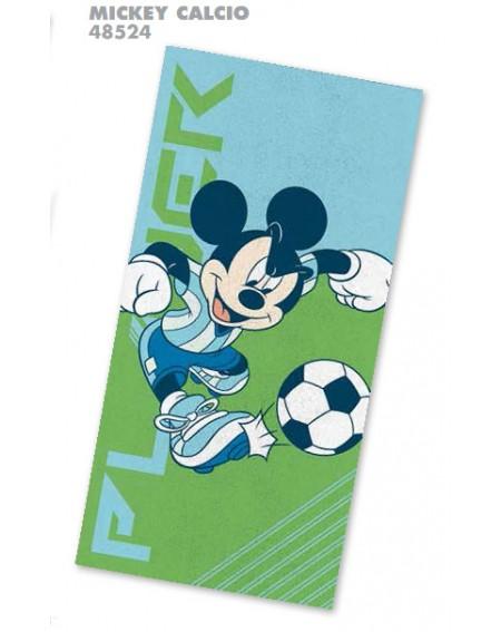 Telo Mare Mickey Calcio...
