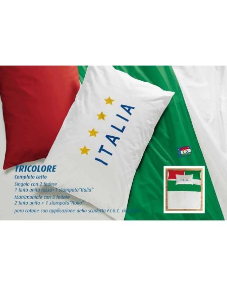 Set de draps Tricolore F.I.G.C. ITALIA Zucchi