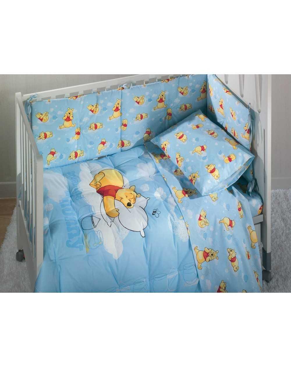 ensemble tours de lit dredons b b s winnie rasoline l. Black Bedroom Furniture Sets. Home Design Ideas