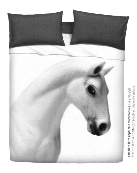 Bedding horse Bassetti Imagine Super KIng Size Bassetti