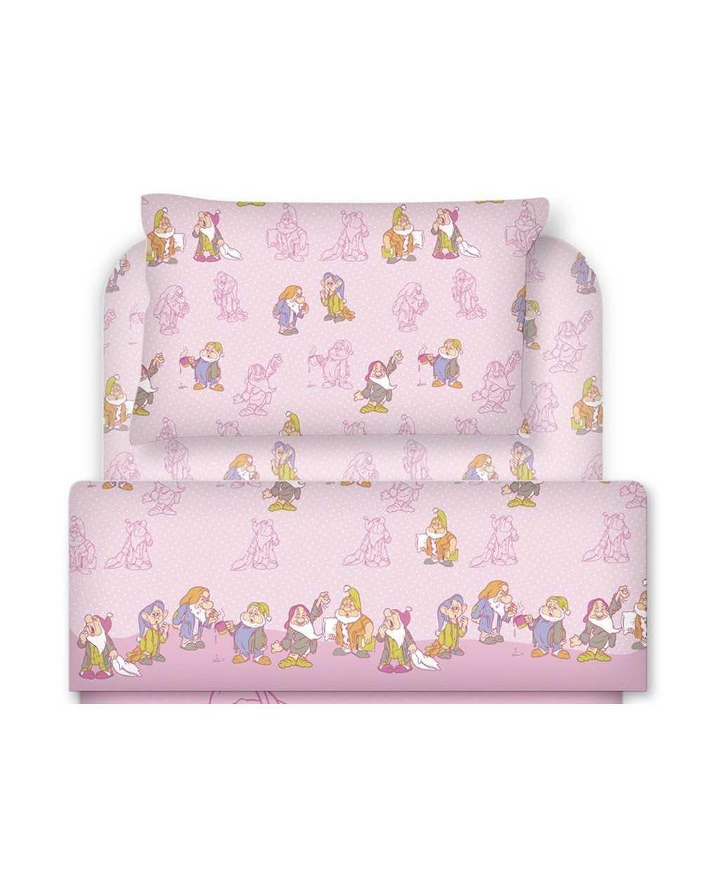 linge de lit b b set de draps les sept nains rasoline l f d home. Black Bedroom Furniture Sets. Home Design Ideas