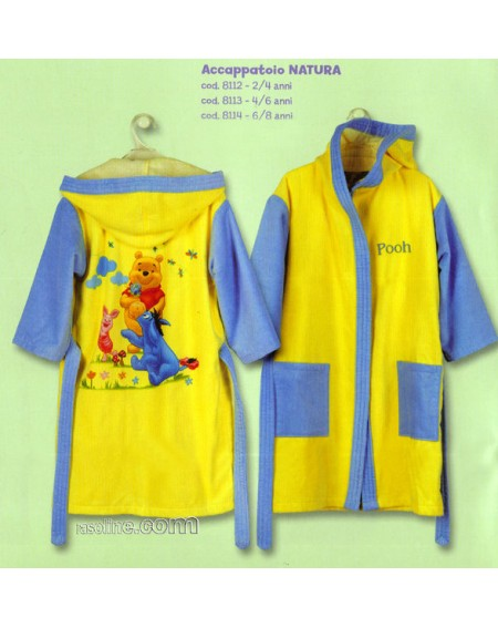 Bathrobe WINNIE CALEFFI DISNEY NATURA
