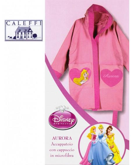 Bademantel Microfiber Prinzessinnen Caleffi Disney Aurora