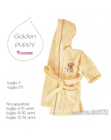 Bademantel Golden Puppy Bassetti S-M