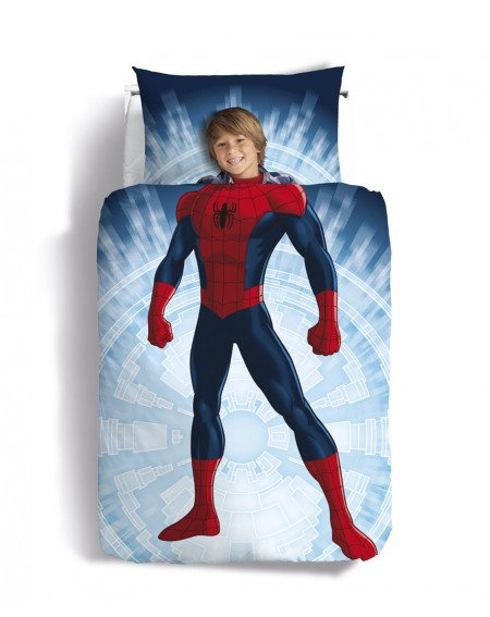 Duvet Set SINGLE BED Spiderman Buonanotte