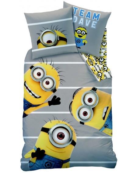 Bettbezug Bettwäsche MINIONS TEAM