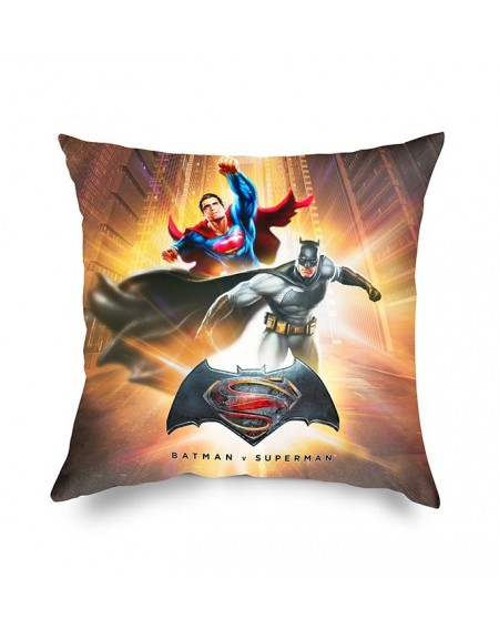 Cuscino Decorativo BATMAN vs SUPERMAN Collezione Warner Bros