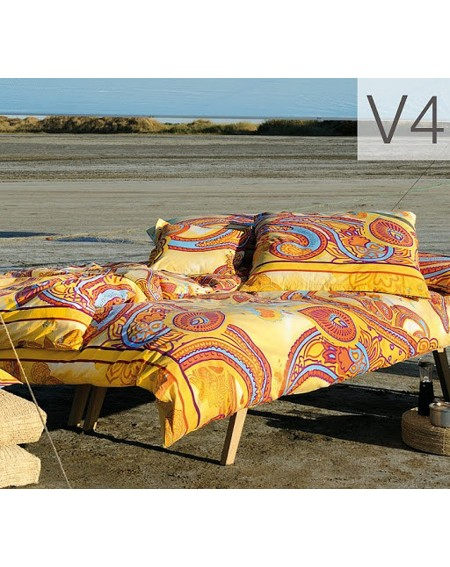 Duvet Set - a fitted sheet, duvet cover and two pillow cases GRAFIQUE GRANFOULARD BASSETTI