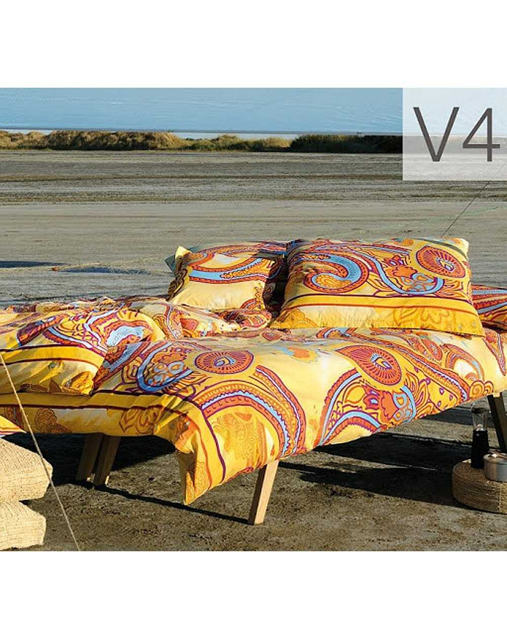 Copripiumino Versace.Duvet Set A Fitted Sheet Duvet Cover And Two Pillow Cases