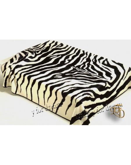 Bettüberwürfe Zebra Wohndecke doppelbett Zebrata