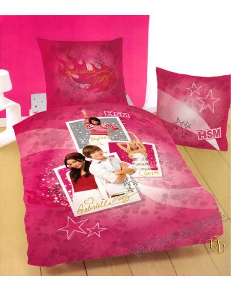 Garnitur Bettbezug und Kissenbezug High School Musical 3