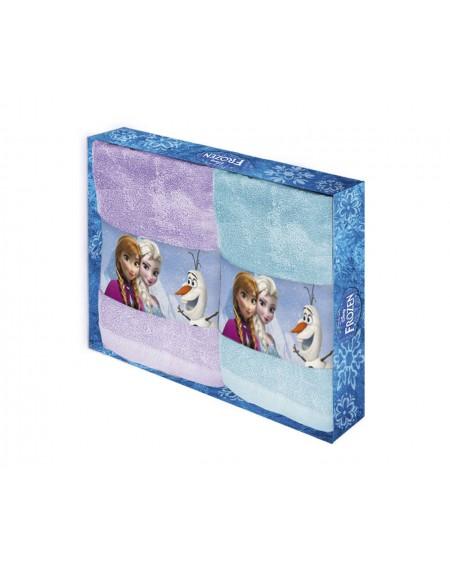 Coppia asciugamani Frozen...
