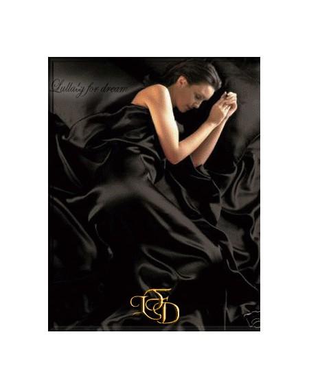 Duvet Set cover SATIN black