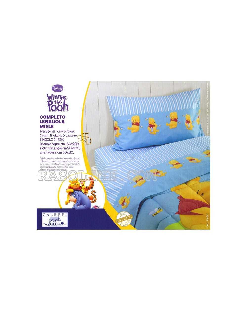 Winnie sheet set single bed