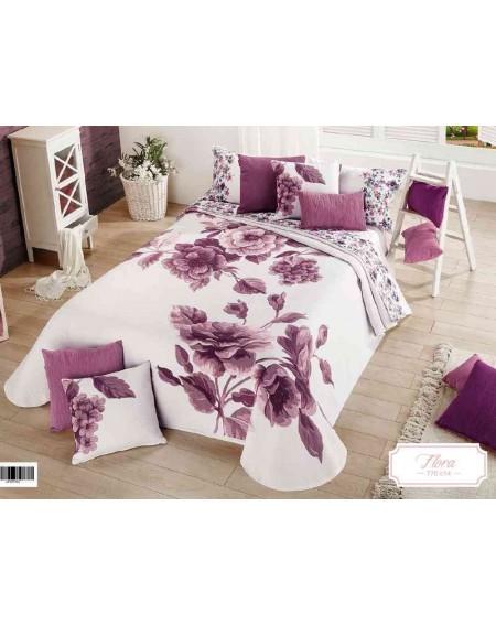 Bedspread Flora 770 C 14 by Manterol