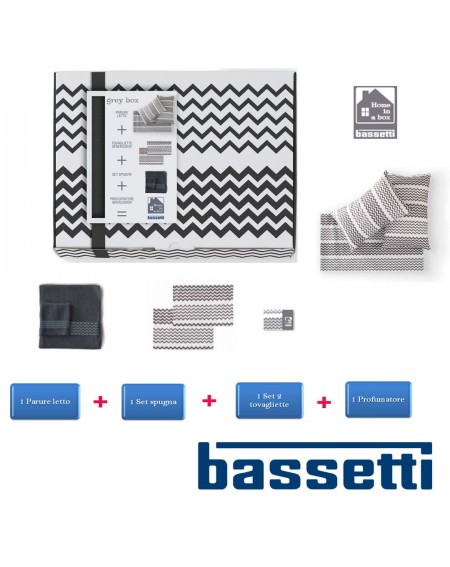 HOME in a BOX Bassetti grau