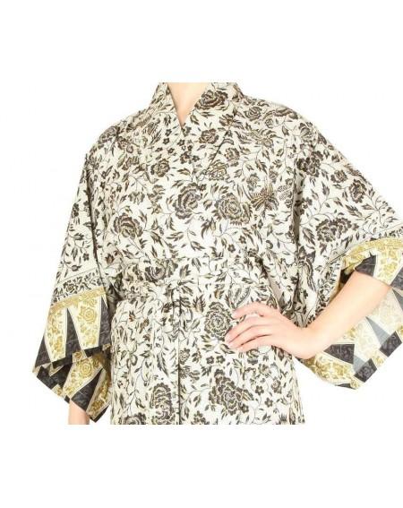 Elegante Bassetti Kimono Lampung aus der Granfoulard-Kollektion